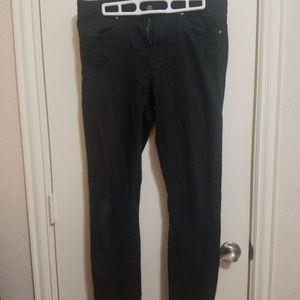 H&M Black Skinny Fit Long Pant